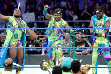 The New Day Smackdown Live