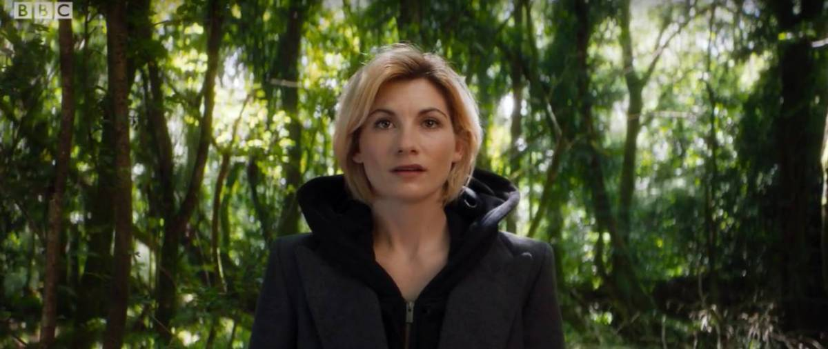 Jodie Whittaker as the 13th Doctor, in Doctor Who