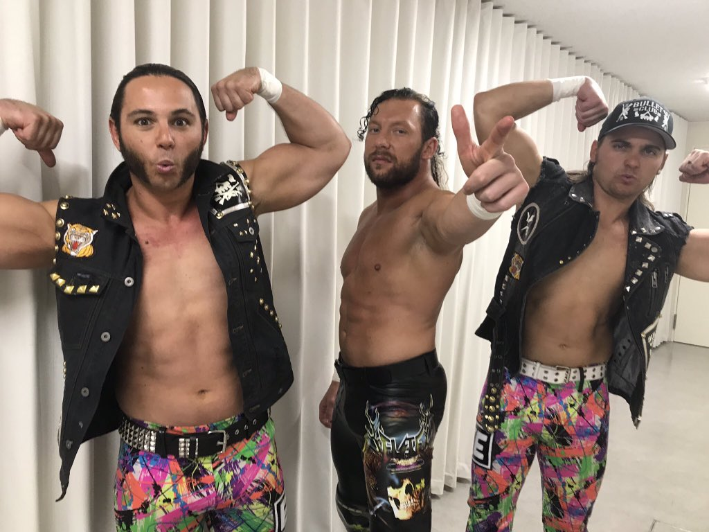 Kenny Omega, Nick Jackson and Matt Jackson, The Elite