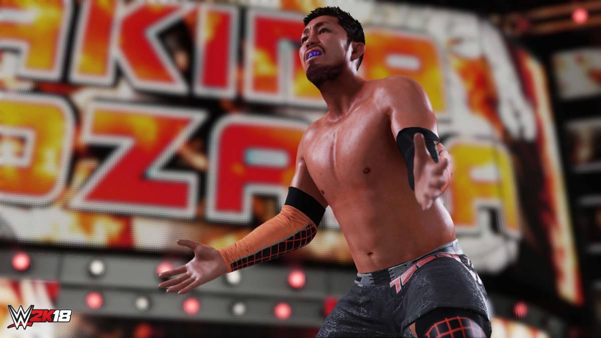 WWE 2K18 Akira Tozawa