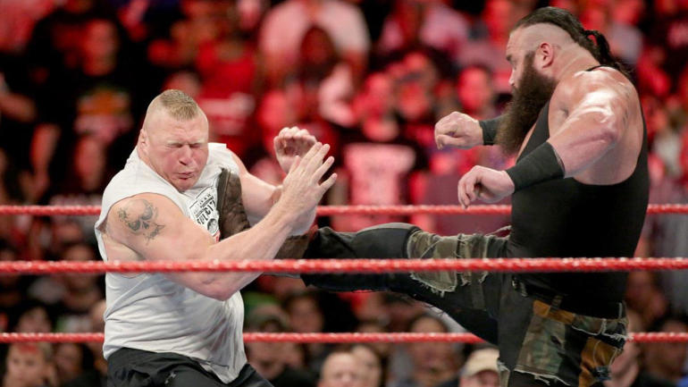 Brock Lesnar Braun Strowman