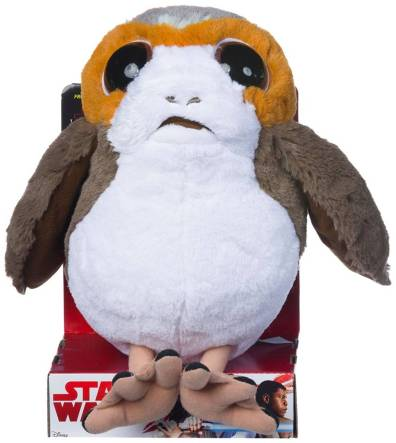 Star Wars gift idea: porg plush toy