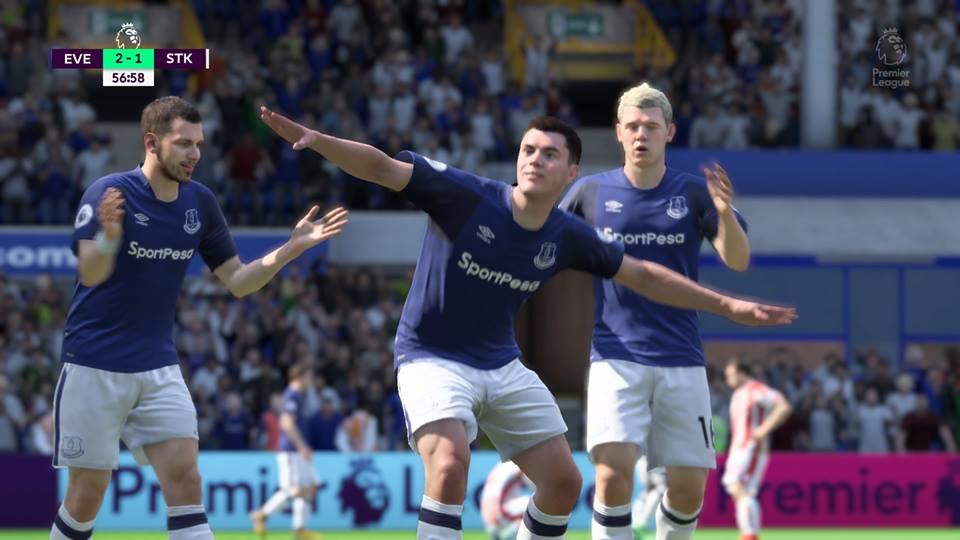 FIFA 18 Everton