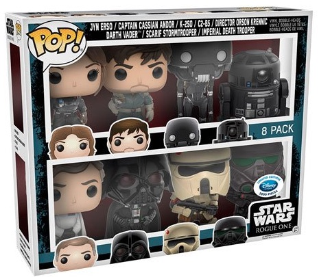 Star Wars gift idea: Set of eight Funko Pop figures