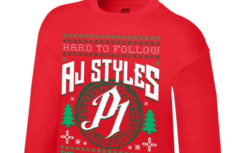 AJ Styles Christmas jumper
