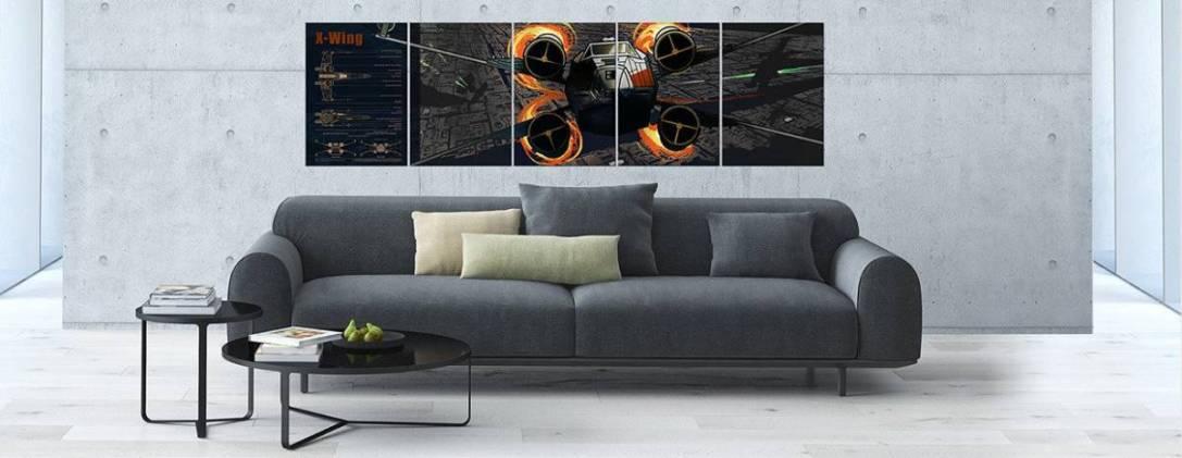 Displate X-Wing