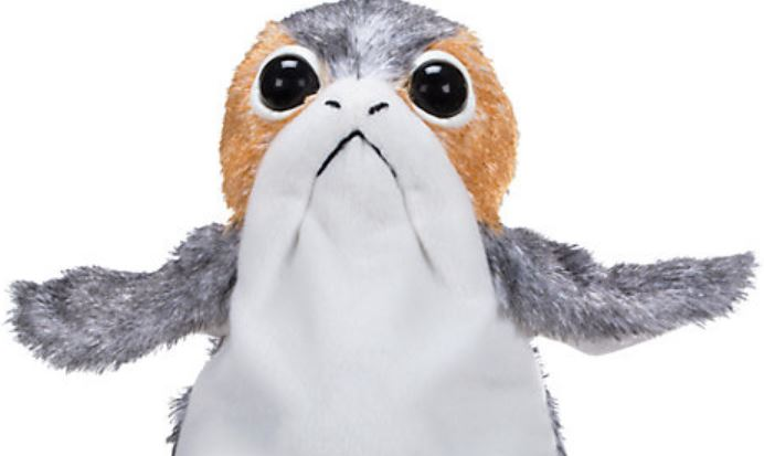 Porg electronic toy