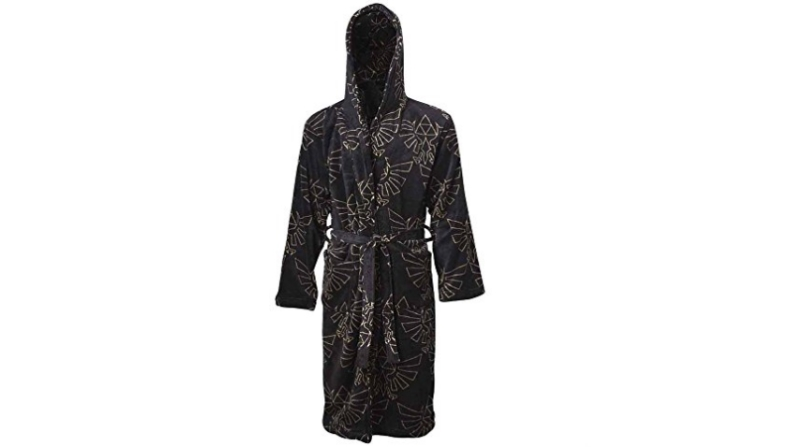 Black Zelda dressing gown/robe