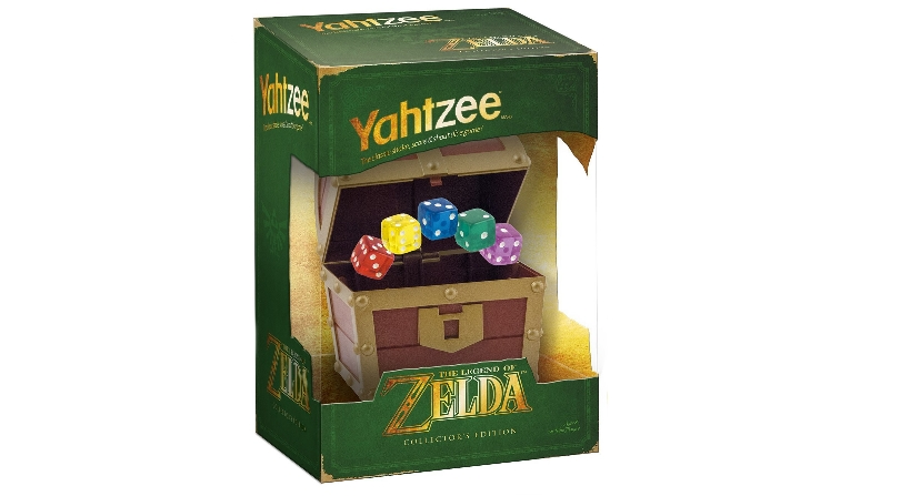 Zelda Yahtzee in box