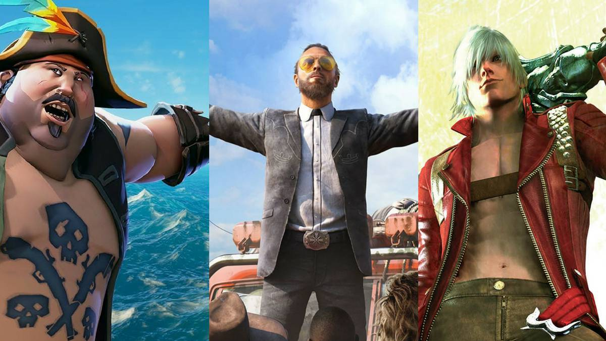 Biggest New Games March 2018