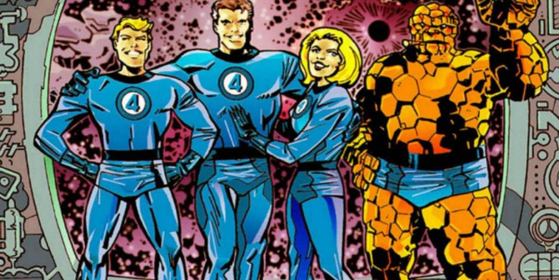 Fantastic Four comics panel