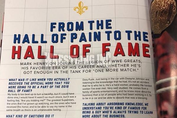 Mark Henry WWE Hal of Fame