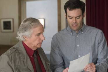 Henry Winkler and Bill Hader in Barry.