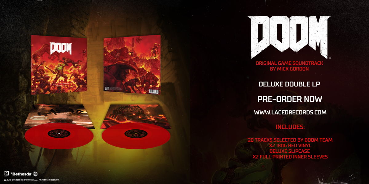 Mick Gordon's DOOM Soundtrack Coming To CD & Vinyl