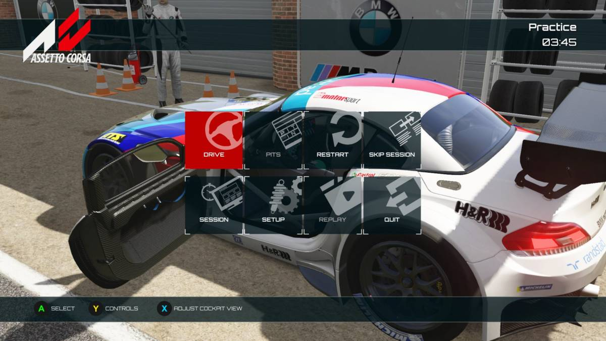 Assetto Corsa Ultimate Edition (Xbox One) REVIEW - Trailing