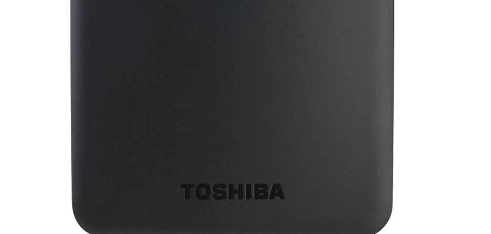 Toshiba external hard drive