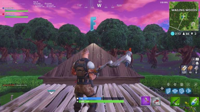 Wailing Woods letter spawn