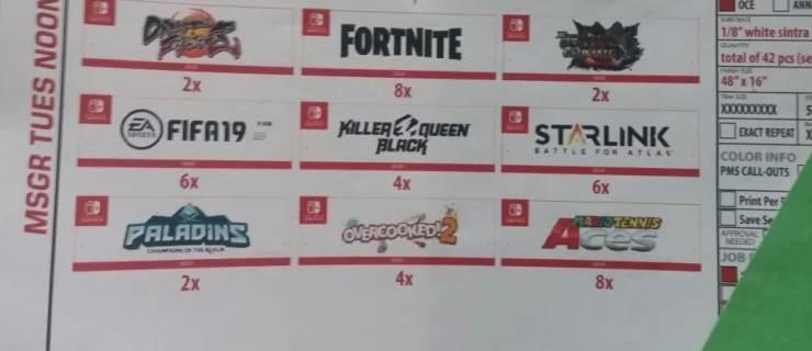 Nintendo Switch E3 2018