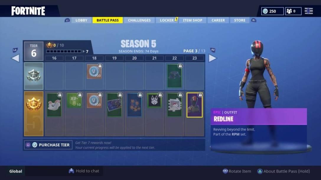 Fortnite Season 5 skins