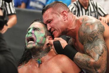 Jeff Hardy Randy Orton