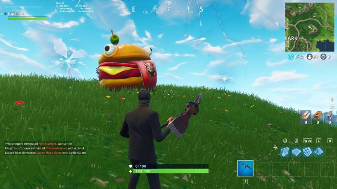 Fortnite durr burger