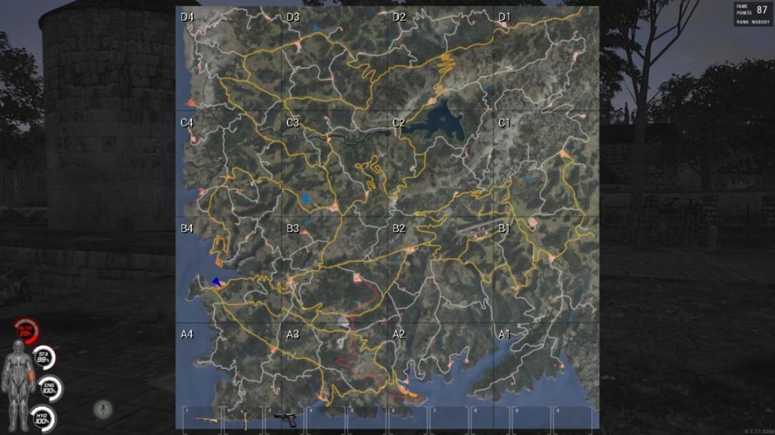 SCUM map