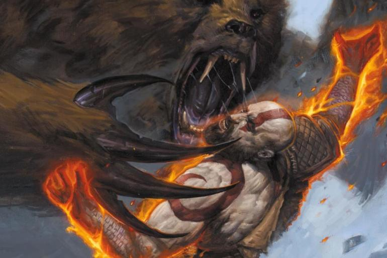 God of War comic