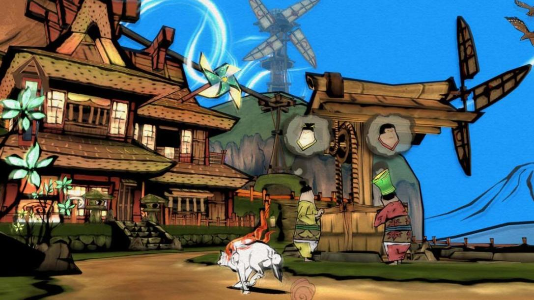 Okami HD Switch