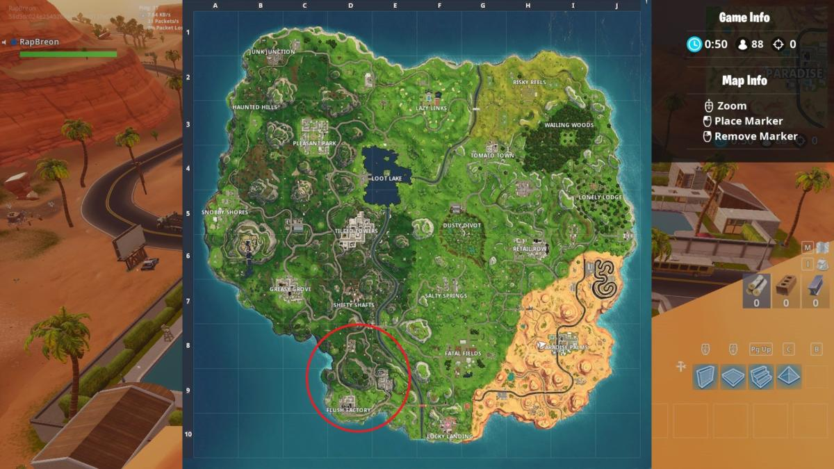 Where Are Wooden Pallets In Fortnite Map