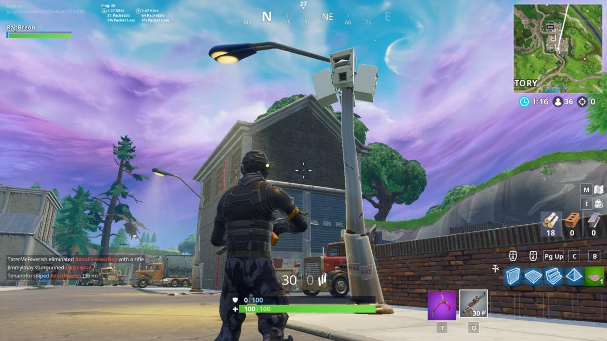 Fortnite Season 6 Guide Dance Under Different Streetlight