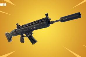 Fortnite Suppressed Assault Rifle
