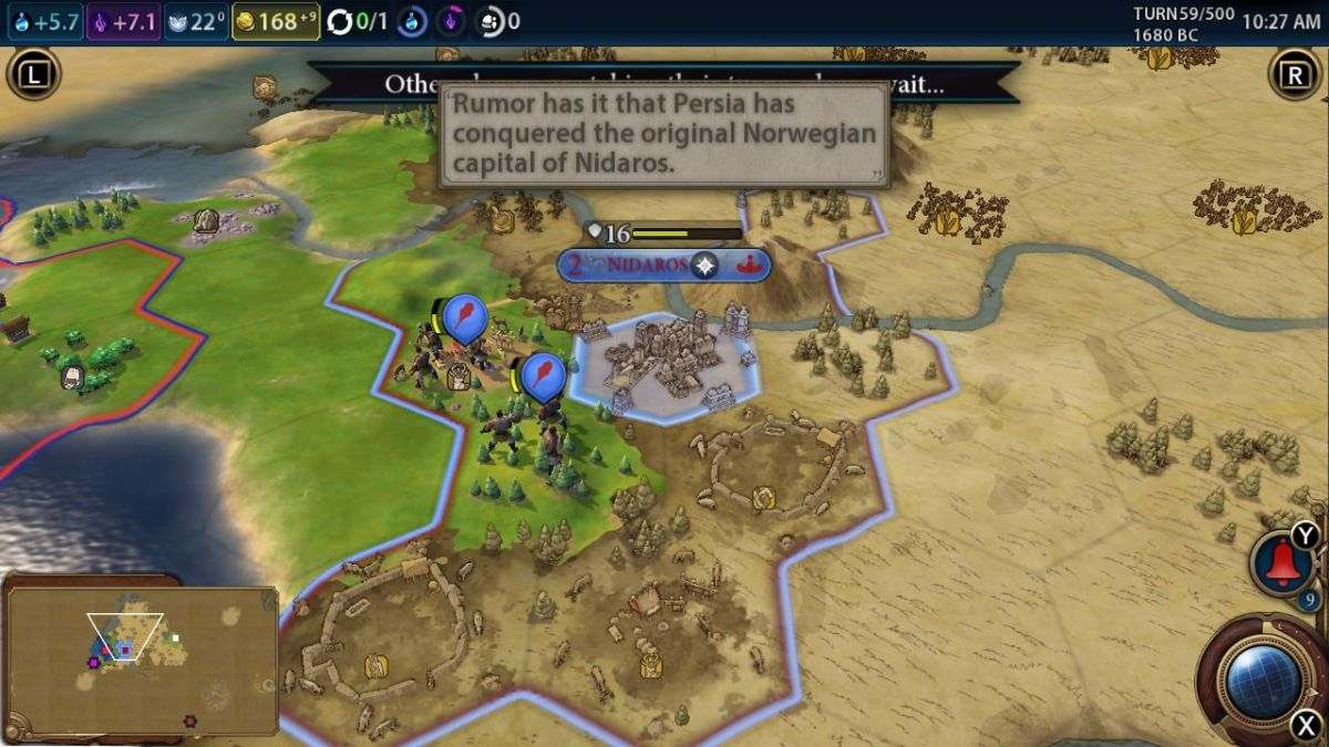 Civ 6 Switch review