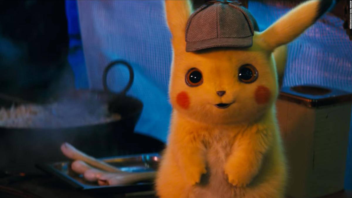 Pikachu in Pokemon: Detective Pikachu