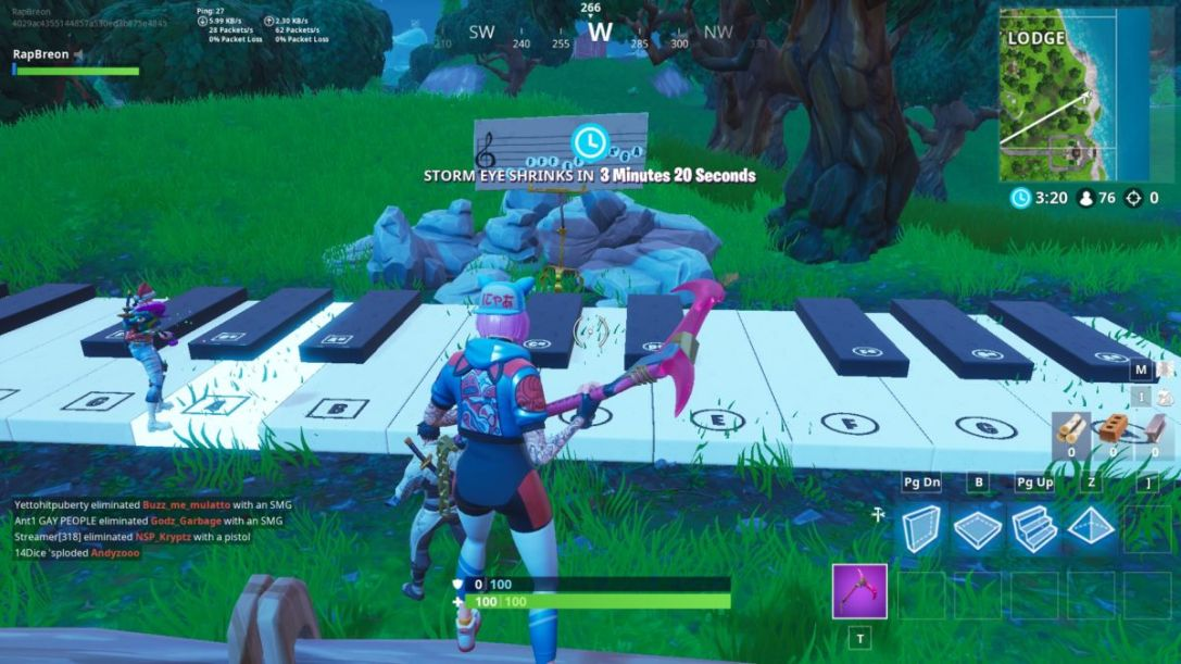 Fortnite Piano Locations