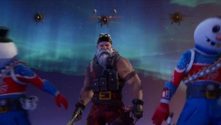 Fortnite Santa