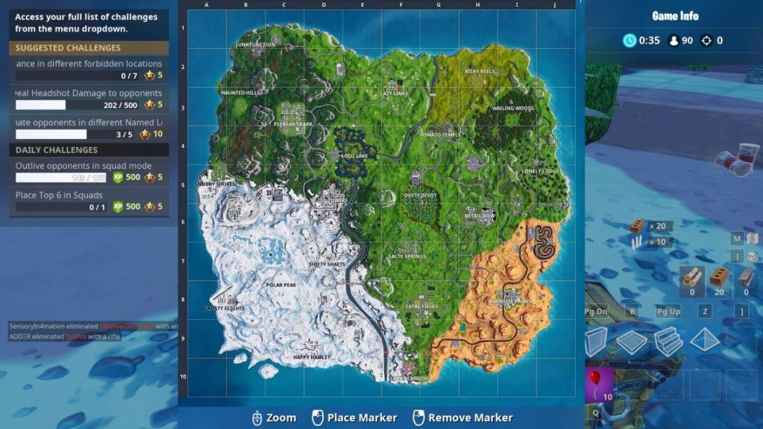 Fortnite Season 7 Map