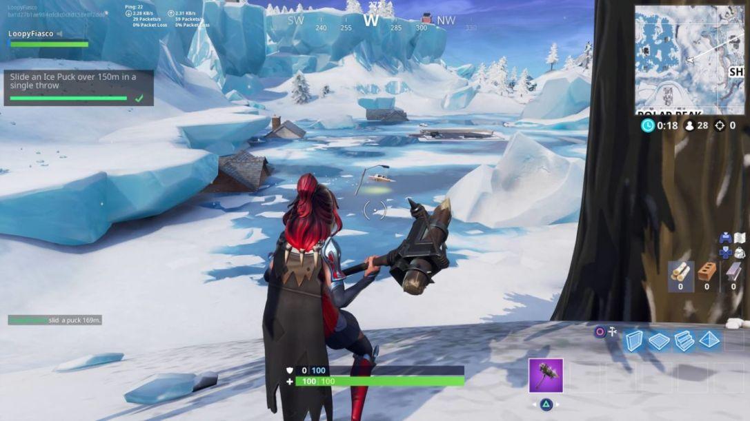 Fortnite Ice Puck