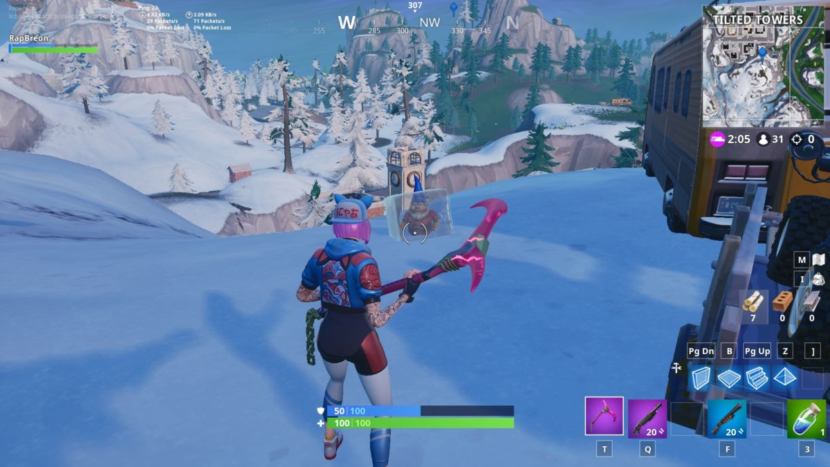 Fortnite Season 7 Guide: Search Chilly Gnomes & Chilly