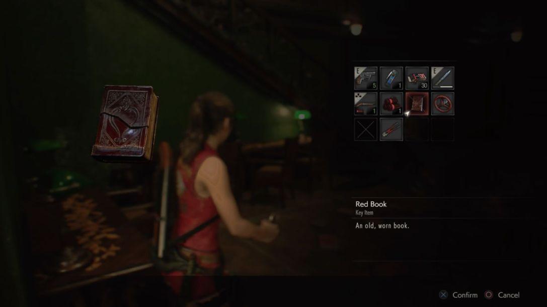 Resident Evil 2 Red Book
