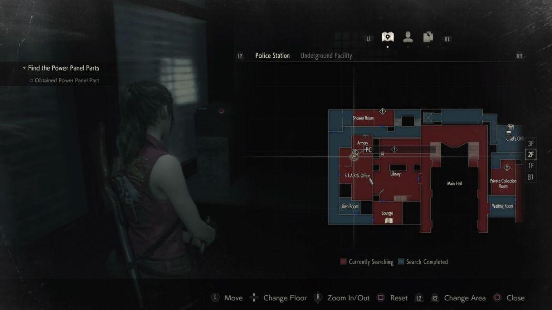 Resident Evil 2 Stars Office