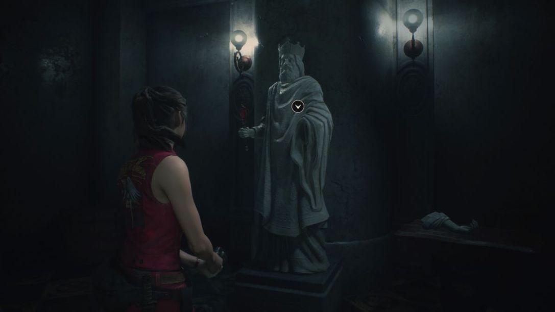 Resident Evil 2 magnum and Uzi