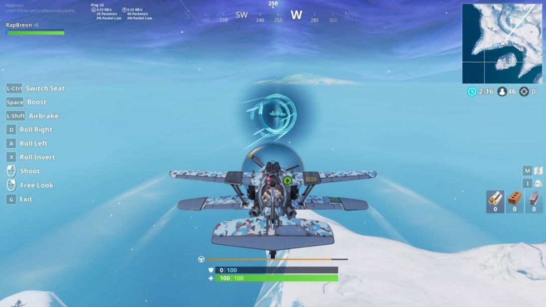 Stormwing Timed Trial Locations