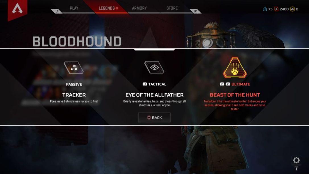 Bloodhound Apex Legends