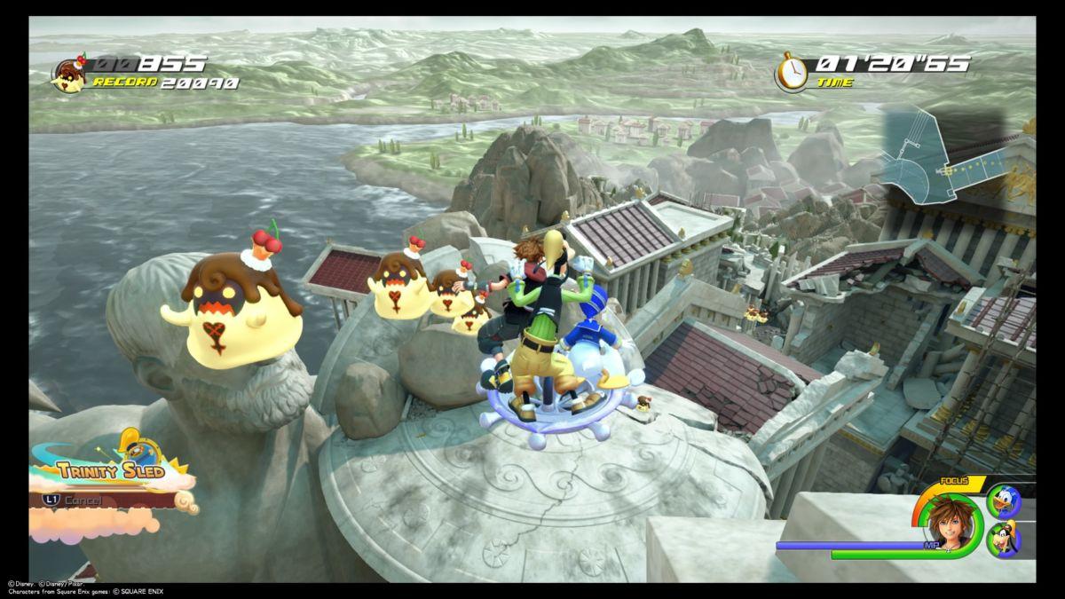 Kingdom Hearts 3 flan locations