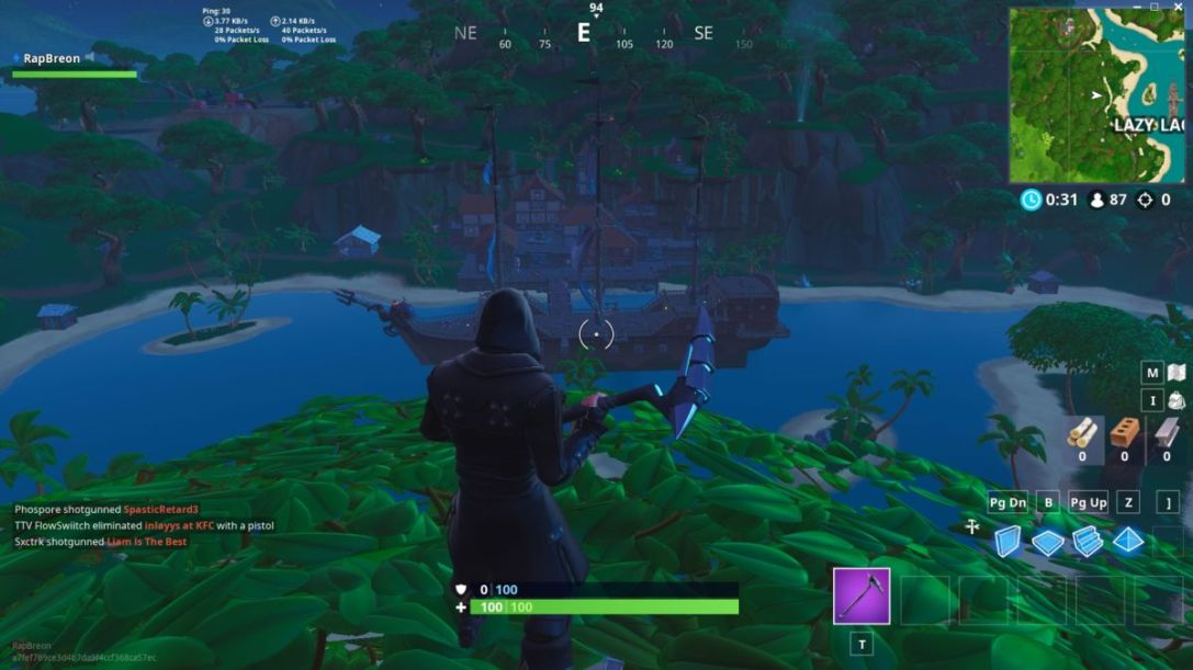 Fortnite Lazy Lagoon