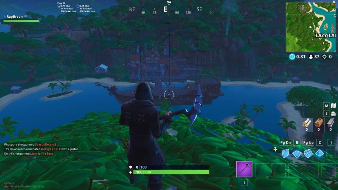 Fortnite Lazy Lagoon