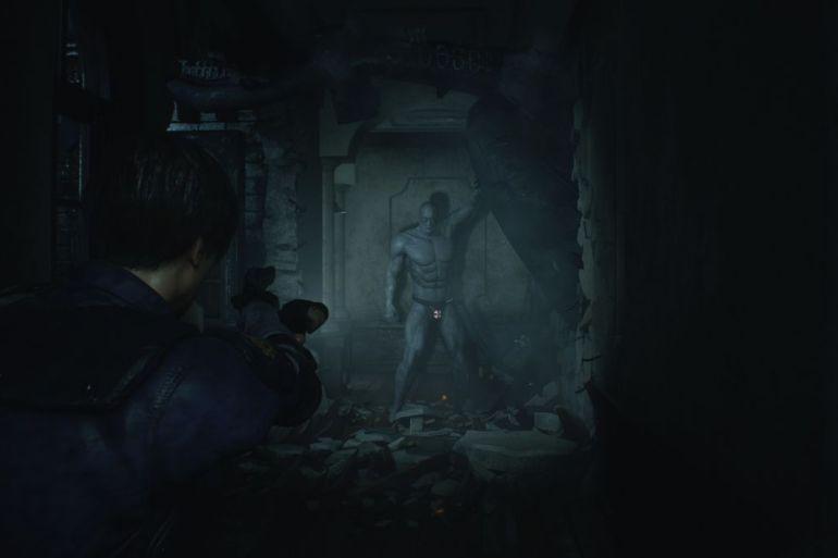 Resident Evil 2 mr x