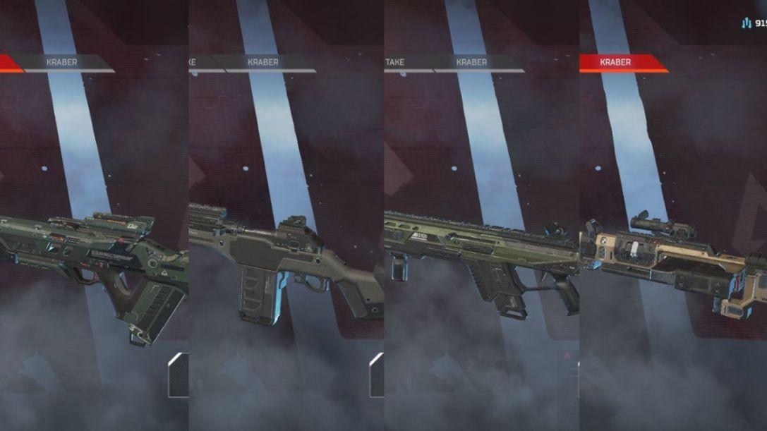 Apex Legends sniper rifles