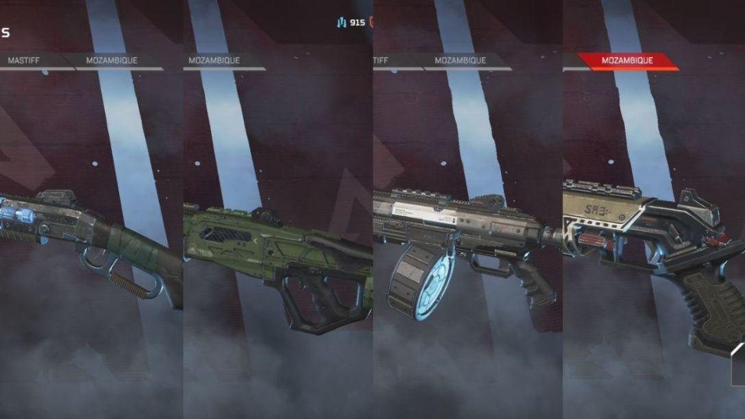Apex Legends shotguns