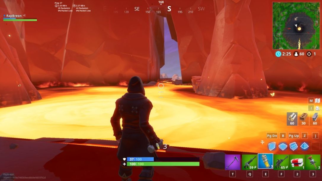 Fortnite lava